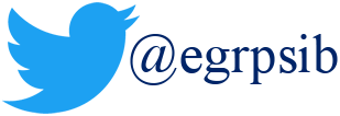 Twitter logo with egrps logo link